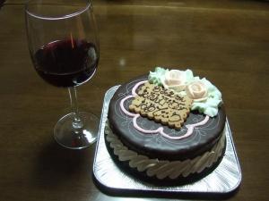 2007年のBirthday cakeはチョコレート♪